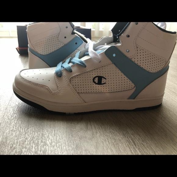 4dc9b8ec3a1545 Champion women s high top sneakers